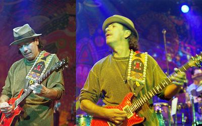 Carlos Santana, le 21 janvier 2000, à Munich, Muffathalle (Crédit : Jaud/CC-BY-SA-3.0)