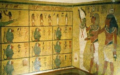 La tombe de Toutankhamon dans la vallée des Rois (Crédit : CC BY-SA 3.0/Hajor)