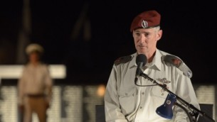 Yair Golan, alors vice-chef d'état-major, en août 2015. (Crédit : Gefen Reznik/unité des porte-paroles de l'armée israélienne)
