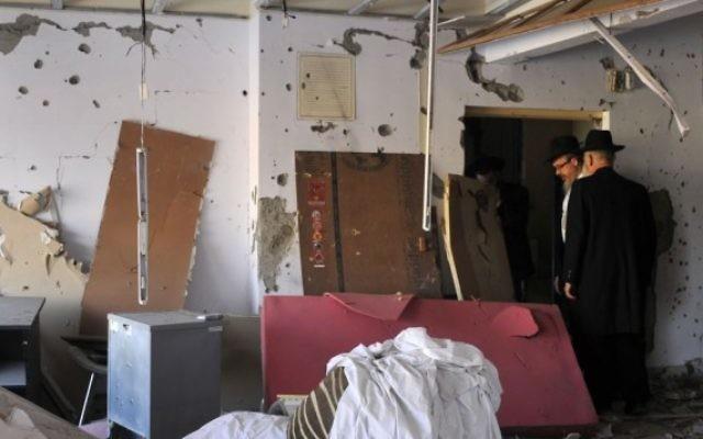 Le maison du Habad de Bombay, où le rabbin Gavriel Holtzberg, 29 ans, et son épouse Rivkah, 28 ans , ont été assassinés par des terroristes islamistes pakistanais, le 25 décembre 2008. (Crédit : Serge Attal/Flash90)