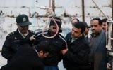 Exécution par pendaison en Iran. Illustration. (Crédit : Arash Khamooshi/ISNA/AFP)