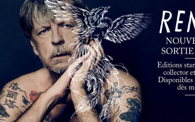 Nouvel album de Renaud (Crédit : Facebook/Renaud)