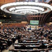 Assemblée plénière du Conseil de l'Europe (Crédit : Wikipédia