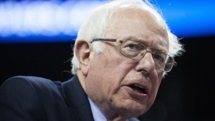 Bernie Sanders à Seattle (Crédit : Matt Mills McKnight/Getty Images)