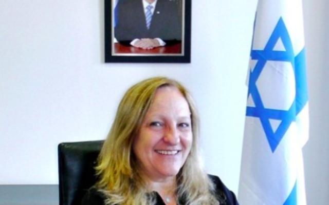 Anita Mazor, le consul général en exercice à Marseille (Crédit : site internet du consulat d'Israël à Marseille)