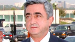 Serge Sarkissian (Crédit : domaine public)