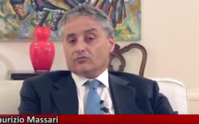 Maurizio Massari (Crédit : capture d'écran YouTube)