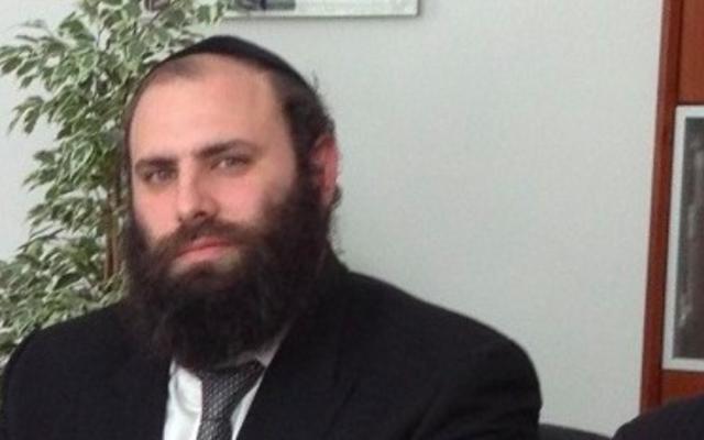 Rabbi Menachem Margolin, président de l'Association juive européenne. (Crédit : Autorisation de l'European Jewish Association)