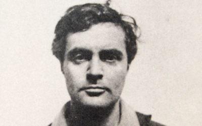 Amedeo Modigliani, à Nice en 1918. (Crédit: domaine public, via WikiCommons)