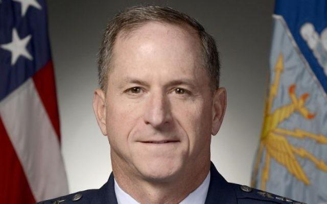 Le général David L. Goldfein de l'armée de l'air des Etats-Unis. (Crédit : domaine public/USAF)