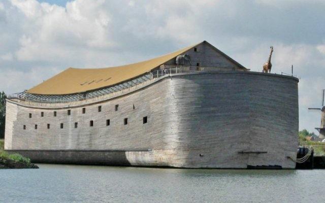 L'Arche de Noé, une organisation néerlandaise chrétienne, prévoit de faire naviguer une réplique taille-réelle de l'Arche de Noé, pour atteindre le Brésil durant les Jeux olympiques d'été et les Jeux paralympiques. (Crédit photo : Autorisation de Ark of Noah Foundation)