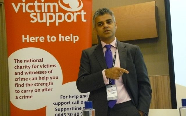 Sadiq Khan le 28 septembre 2011 (Crédit : CC-BY-2.0)