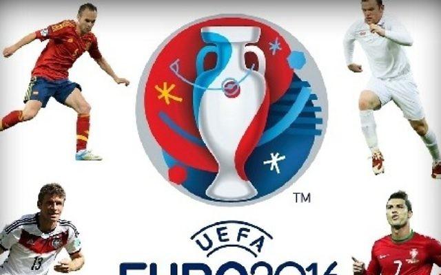 L'Euro 2016 aurait été visé par des attaques terroristes. (Logo de l'Euro 2016)