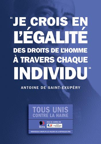 Affiche de la Licra (Crédit : Crédit Licra/Facebook)
