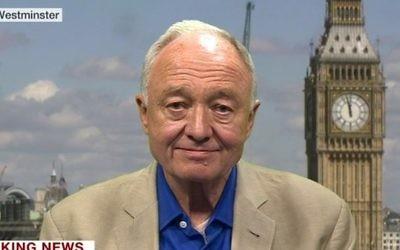 Ken Livingstone, ancien maire travailliste de Londres. (Crédit : BBC)