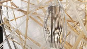 """Détail de l'un des éléments 'vivants' de """"Life Object"""", le nid sculpté conçu par une équipe de scientifiques et architectes israéliens pour la Biennale internationale d'architecture de Venise, en mai 2016. (Crédit : équipe Life Object)"""