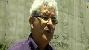Muhammad Beiruti, membre du nouveau mouvement Deux états, un pays. (Crédit : capture d'écran Deuxième chaîne)