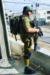 Matan Shamir, qui a été récompensé d'une citation pour avoir affronté deux attaquants palestiniens, photographie non datée. (Crédit : unité des portes-paroles de l'armée israélienne)