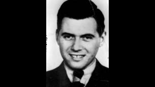 Le docteur nazi Josef Mengele (Crédit : Wikimedia Commons)