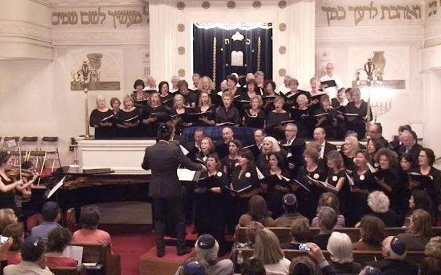 La Chorale De Synagogue Copernic Credit Autorisation
