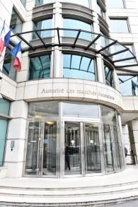 Le siège de l'AMF à Paris (Crédit : autorisation)