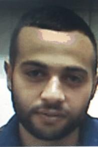 Hamis Adnan Hamis Salameh, 21 ans, originaire de Ramle, qui a été inculpé le 13 août 2015, pour avoir tenté de rejoindre le groupe Etat islamique en Syrie (Crédit : Shin Bet)