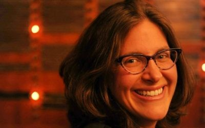 Amanda Borschel-Dan,responsable de l'édition du 'Monde juif' du Times of Israel (Crédit : Aurele Medioni)