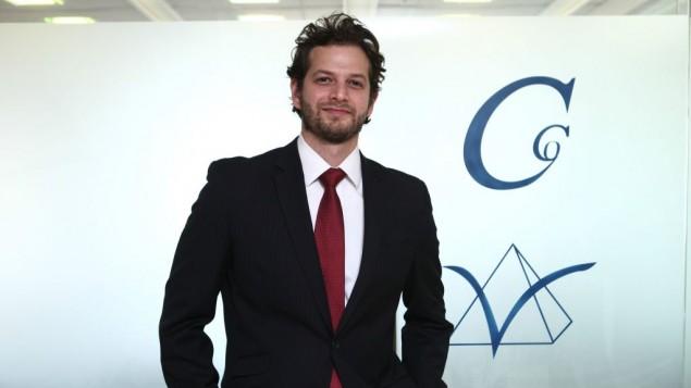 Ben Topor, président d'Initiative Noah (Crédit : Dror Sithakol)