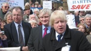 Boris Johnson, ancien maire conservateur de Londres. (Crédit : CC BY-SA 2.0)