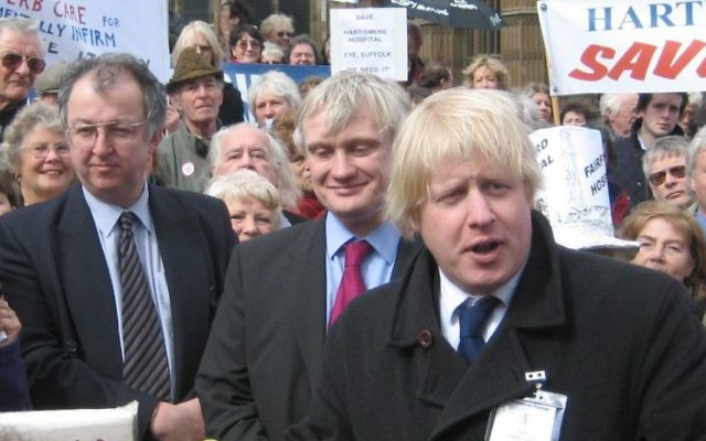 Boris Johnson, ancien maire conservateur de Londres. (Crédit : CC BY-SA 2.0)