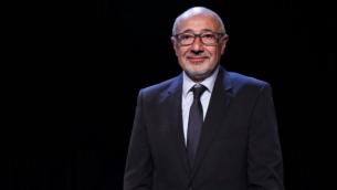 Francis Kalifat, président du CRIF, à Paris, le 29 mai 2016. (Crédit : AFP/François Guillot)