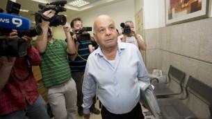 Ezra Saidoff, directeur adjoint des opérations au bureau du Premier ministre. (Crédit : Yonatan Sindel/Flash90)
