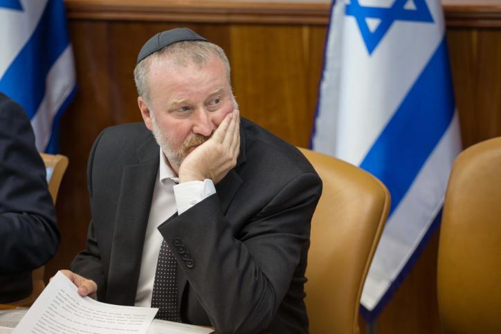 Le procureur général Avichai Mandelblit à Jérusalem, le 5 juillet 2015. (Crédit : Emil Salman/POOL)