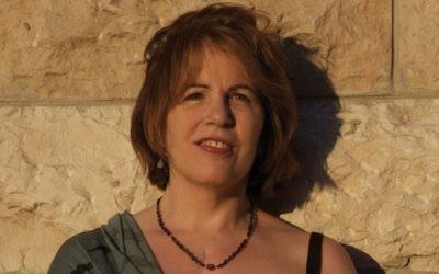 Rita Gabis, née d'une mère catholique lituanienne et d'un père juif. (Crédit : Rina Castelnuovo)