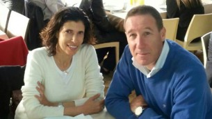 Mira et Emanuel Riva, un couple Israélien tué pendant une attaque terroriste au musée juif de Bruxelles le 24 mai 2014. (Crédit : autorisation)