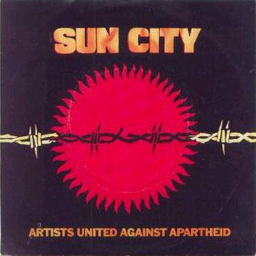 Couverture du single Sun City, 1985