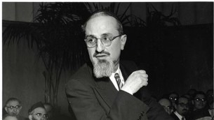 Le rabbin Joseph Dov Soloveitchik (Crédits : Yeshiva University)
