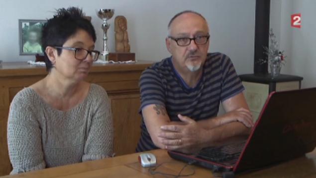 Daniel et Italia (Crédit : capture d'écran France 2)
