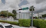 Le centre juif Aventura Turnberry à Aventura, en Floride. (Crédit : capture d'écran Google Street View)