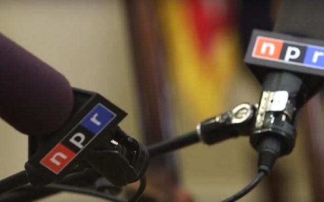 Micros NPR. (Crédit : capture d'écran YouTube)