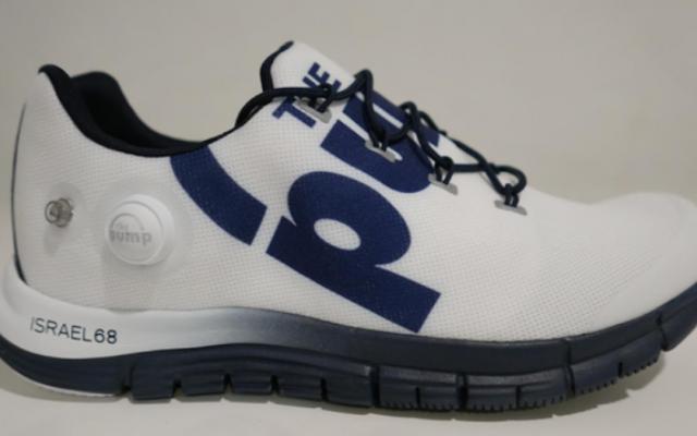 """Reebok avait annoncé lundi la mise en vente d'une basket """"Israel 68"""", mais a déclaré le lendemain qu'il s'agissait d'une erreur. (Crédit : page Facebook de Reebok)"""
