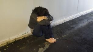 Une victime de viol. Illustration. (Crédit : Shutterstock)