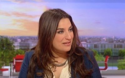 La députée britannique travailliste Luciana Berger (Crédit : capture d'écran YouTube)