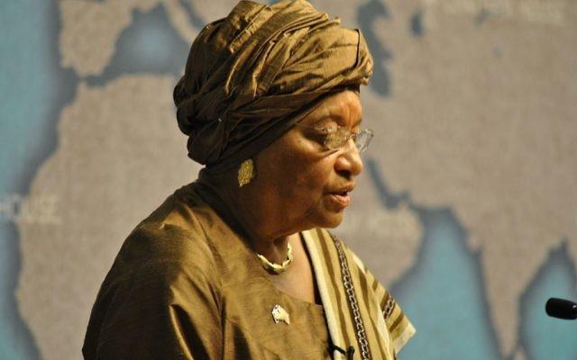 Ellen Johnson-Sirleaf, présidente du Liberia, pendant une conférence sur les défis de la reconstruction après-guerre, le 13 juin 2011. (Crédit : Chatham House - Ellen Johnson-Sirleaf, CC BY 2.0, via WikiCommons)