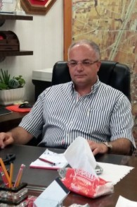 Shuaa Masarwa Mansur, le maire de Tayibe. (Crédit : Dov Lieber/Times of Israel)