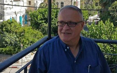 Rami Sadan, président du conseil d'administration de la Dixième chaîne. (Crédit : Facebook)