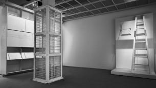 """Une autre vue de """"La chambre des preuves"""". (Crédits : Fred Hunsberger / JTA)"""