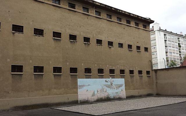 Cour de la prison Montluc (Crédit : Wikipédia)
