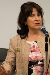 La baronne Helena Kennedy, l'une des plus grandes avocates du Royaume-Uni, se bat au nom des réfugiés pendant l'une des pires crises depuis des décennies. (Crédit : Rory Isserow)