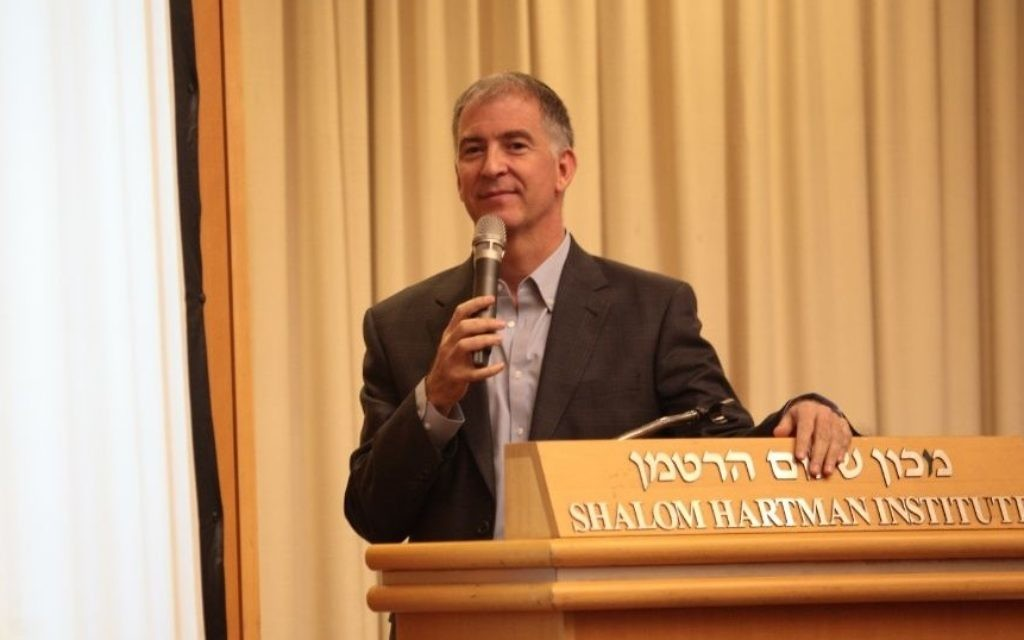 Le rabbin Donniel Hartman (Crédit : Institut Shalom Hartman)
